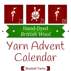 Hand Dyed Wool Advent Calendar