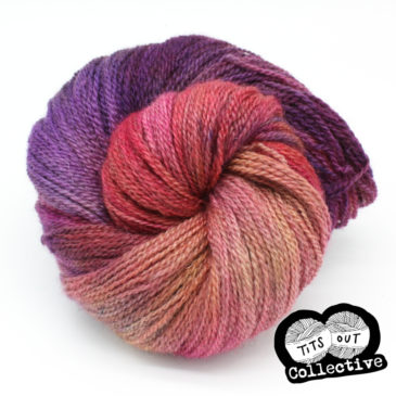 Charity yarn is now live! (#titsoutcollective)