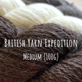 British Yarn Expedition- Medium (100g)