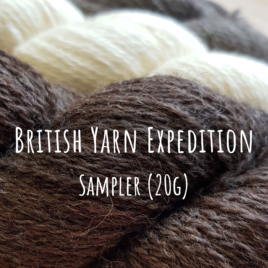 British Yarn Expedition - Sampler (20g)