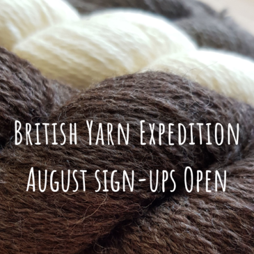British Yarn Expedition Sign-Ups Now Open