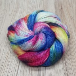 Watercolour Scene – Falkland Merino Laceweight Single