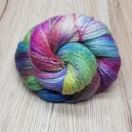 Melted Crayon #2 – Bluefaced Leicester 4ply