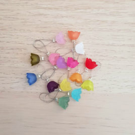 Bluebell Knitting Stitch Markers
