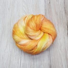 Peach Melba #1 – No-Nylon Sock Yarn
