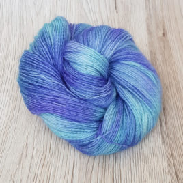 Bluebell Mist – No-Nylon Sock Yarn