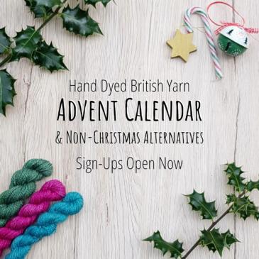 British Yarn Advent Calendar & Non-Christmas Alternative Available Now