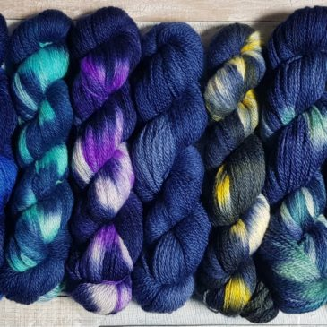 Deep Blue Sea – A new range of yarn and stitch markers