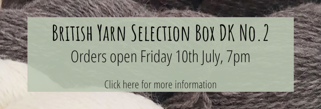 Page Title: British Yarn Selection Box DK No. 2