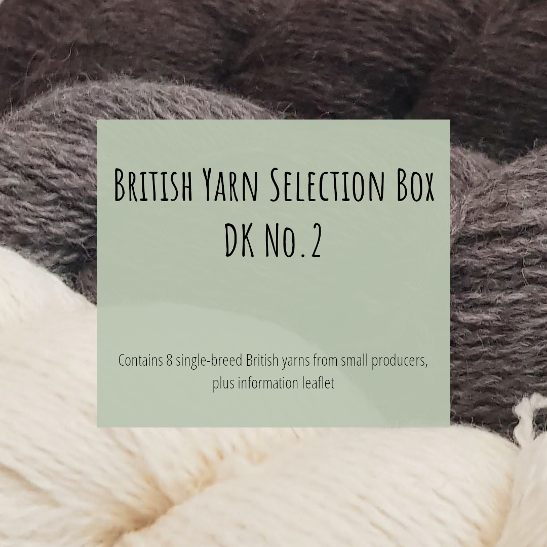 Title Image: British Yarn Selection Box DK No. 2